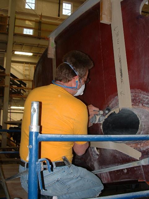 Lyman Morse Boatbuilding Ring Leader Ullberg Express