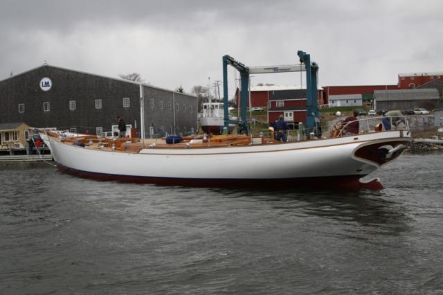 Lyman Morse Boatbuilding Whitehawk Bruce King