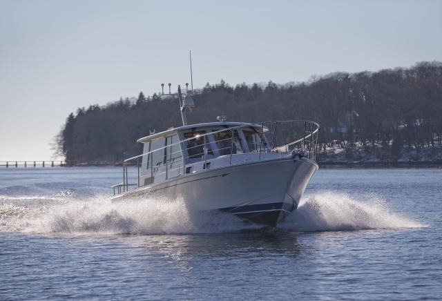 Stony Isle, Monhegan 42 commuter yacht by Lyman-Morse