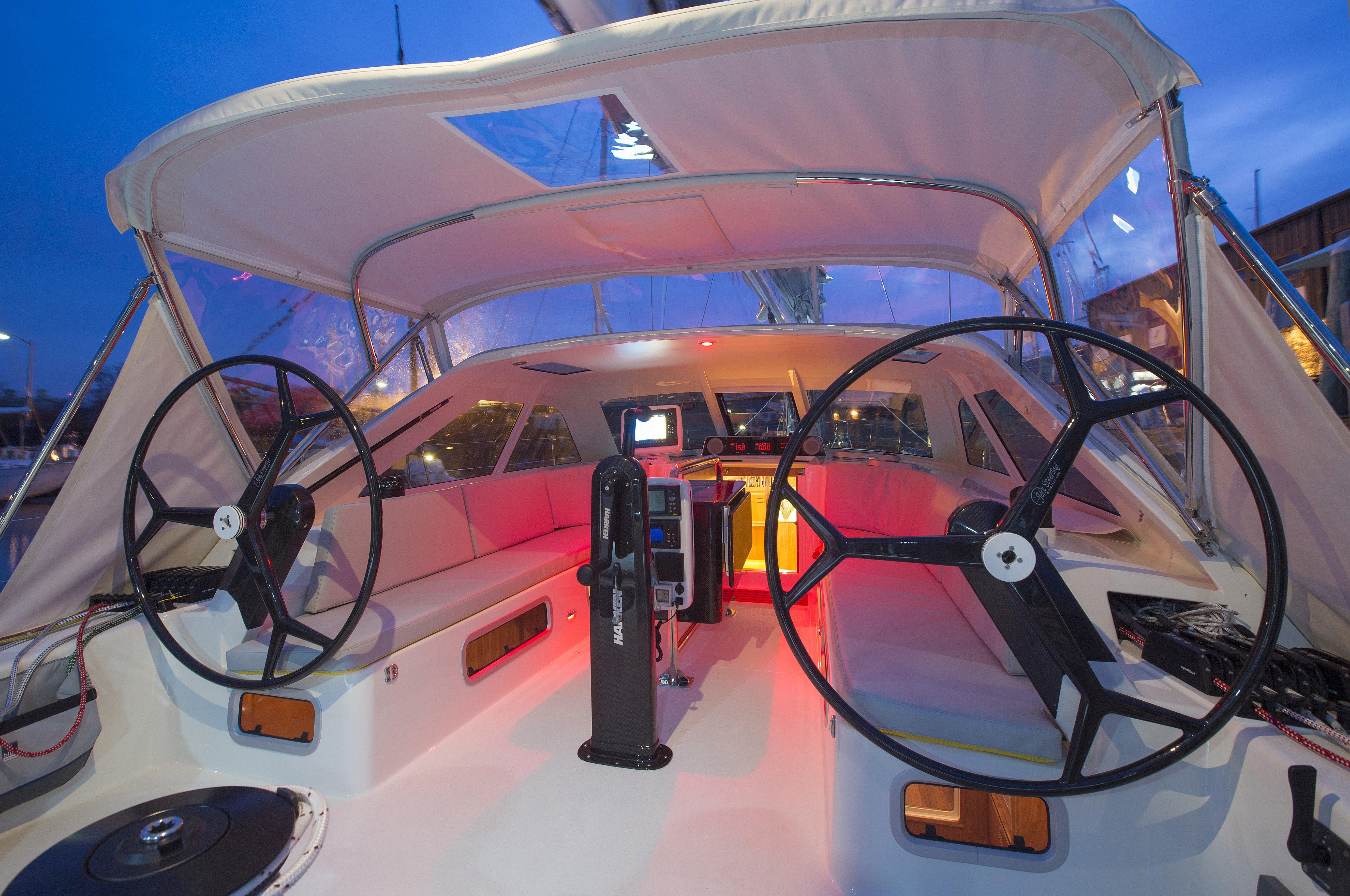 Kiwi Spirit, Far 63 sailing yacht by Lyman-Morse