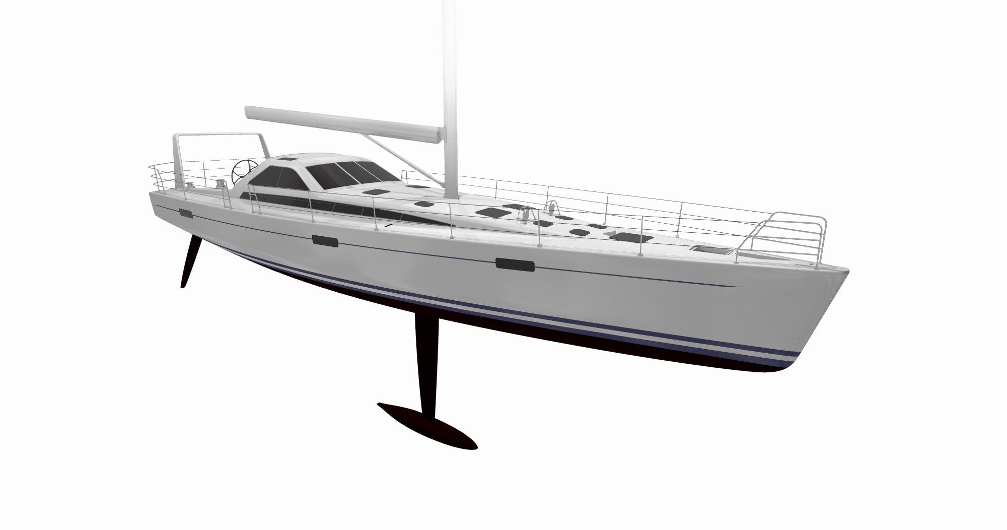 LM Farr 63 Racing-Sailing Yacht, Kiwi Spirit