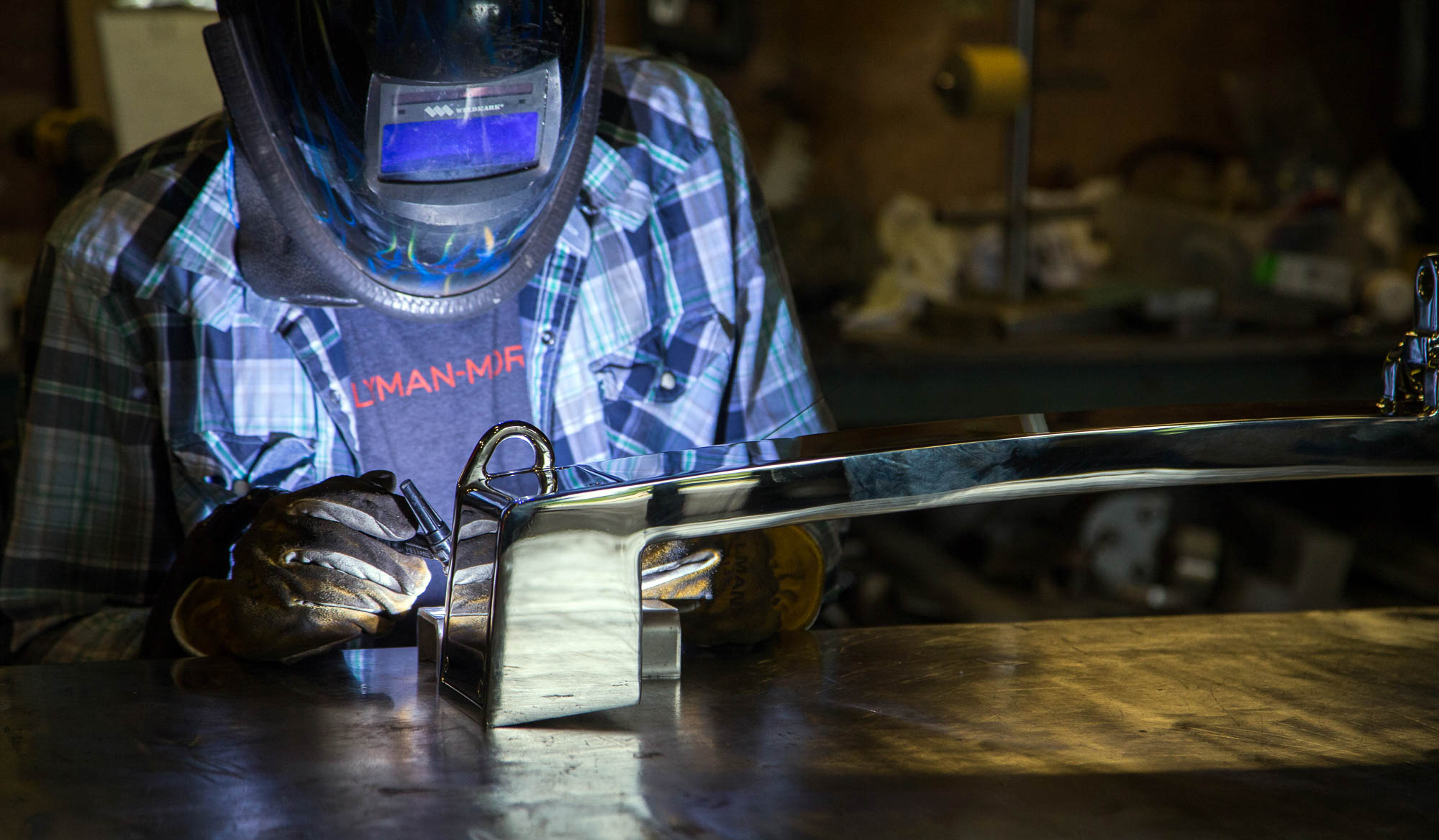 Lyman-Morse Fabrication, world-class expertise in metal work of all types