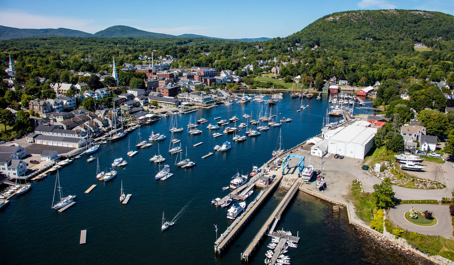 Camden, Maine, home to Lyman-Morse at Wayfarer