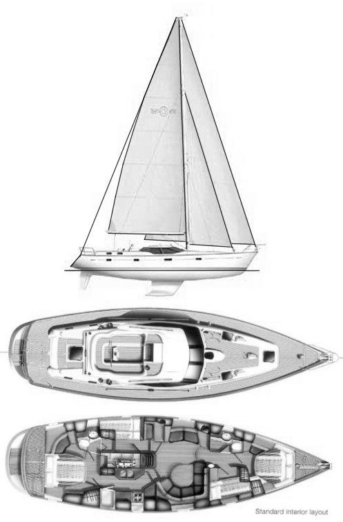 Osprey, Oyster 53 refit by Lyman-Morse
