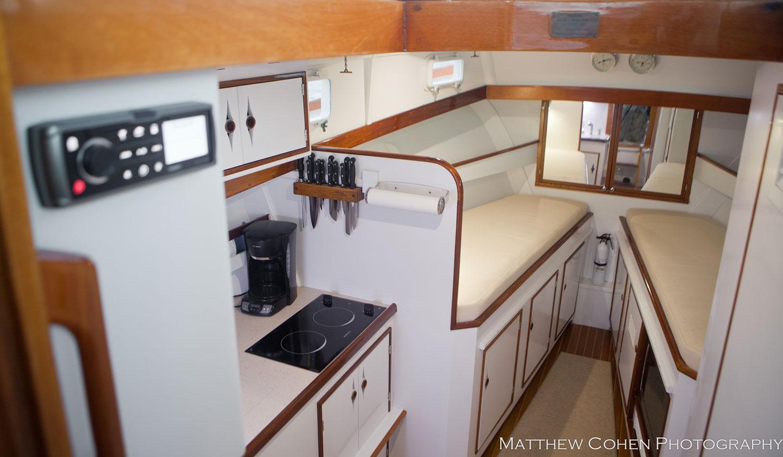 Yacht Pamina, avaialble from Lyman-Morse
