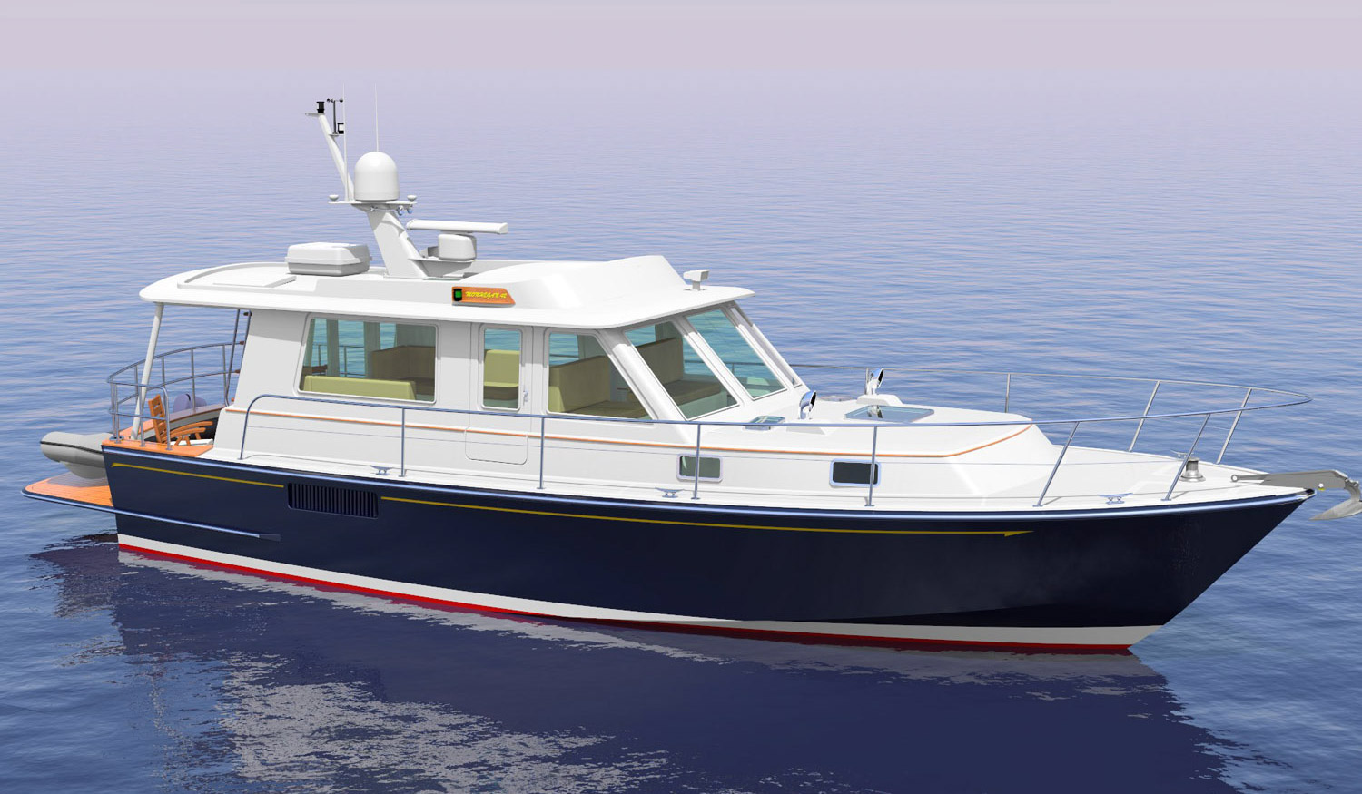 Monhegan 42 Extended Cruiser Version, by Lyman-Morse
