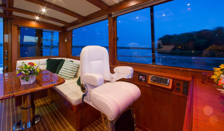 Monhegan 42 Peregrine, Flybridge yacht by Lyman-Morse