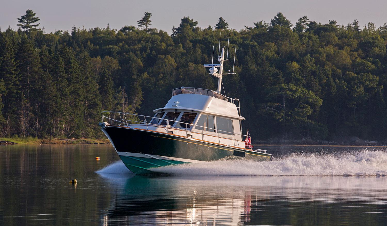 Lyman-Morse Yacht Brokerage-Peregrine, Monhegan 42