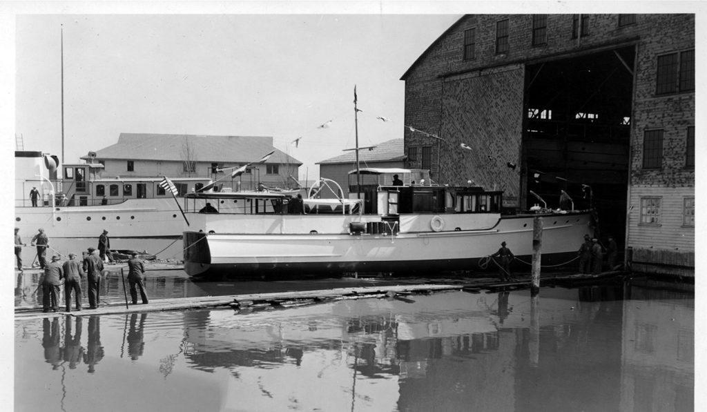 Classic yacht Scout, refit by Lyman-Morse Boatbuilding Co.