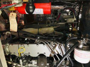 Morris 46 Seaforth Engine