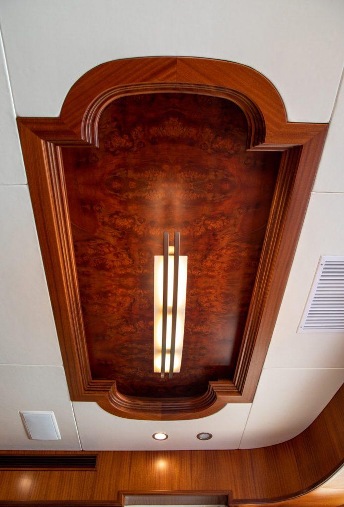 Paragon Rhapsody ceiling detail