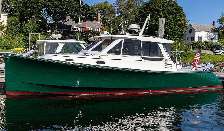 Pearson True North Noble Lady port profile