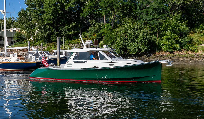Pearson True North Noble Lady starboard profile