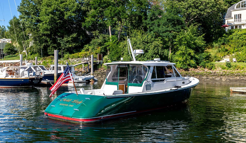 Pearson True North Noble Lady starboard quarter