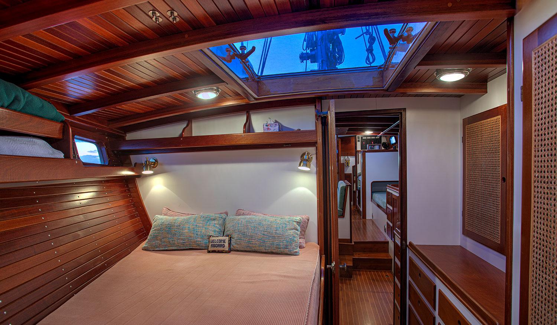 Seguin 49 Quartet guest cabin
