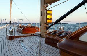 September-Dispatches-Teak Deck on Yacht Anna
