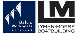 Lyman-Morse/Baltic Workboats logos