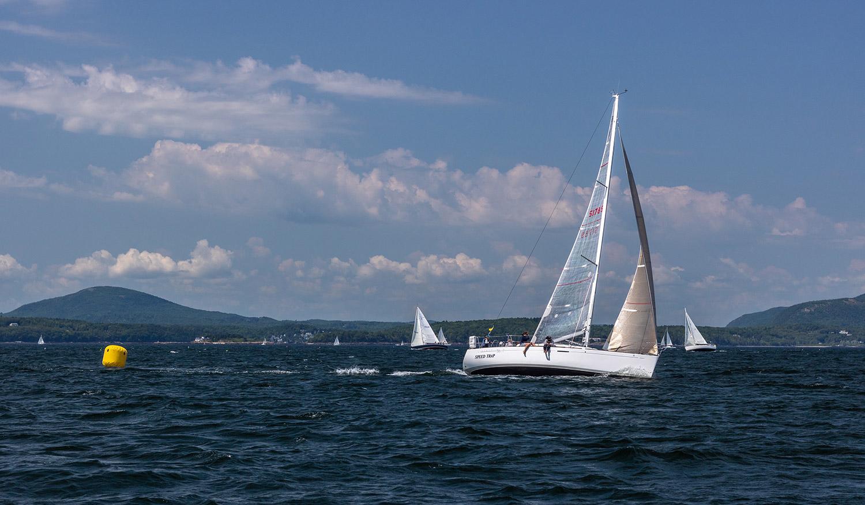 Beneteau America 36.7 racing in Maine