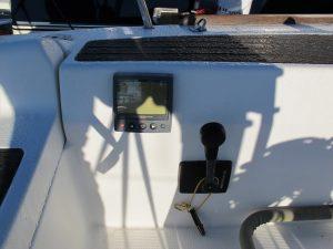Beneteau America 36.7 engine controls