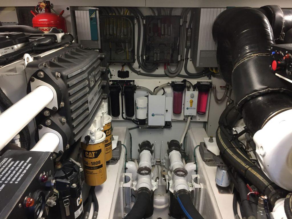 Whistler engine room