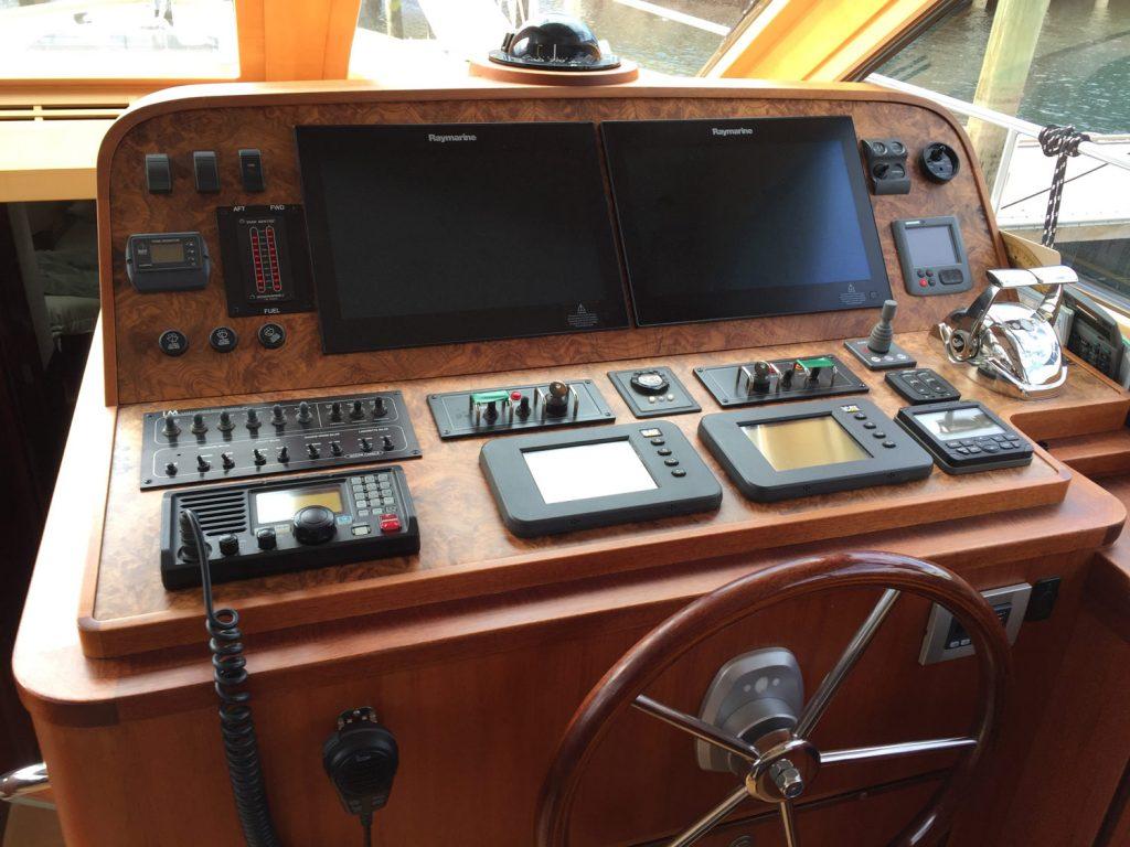 Whistler helm station