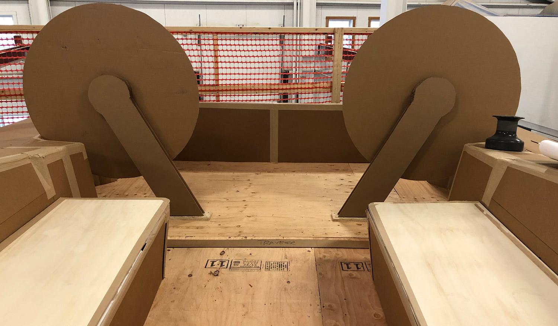 LM46 cockpit mockup