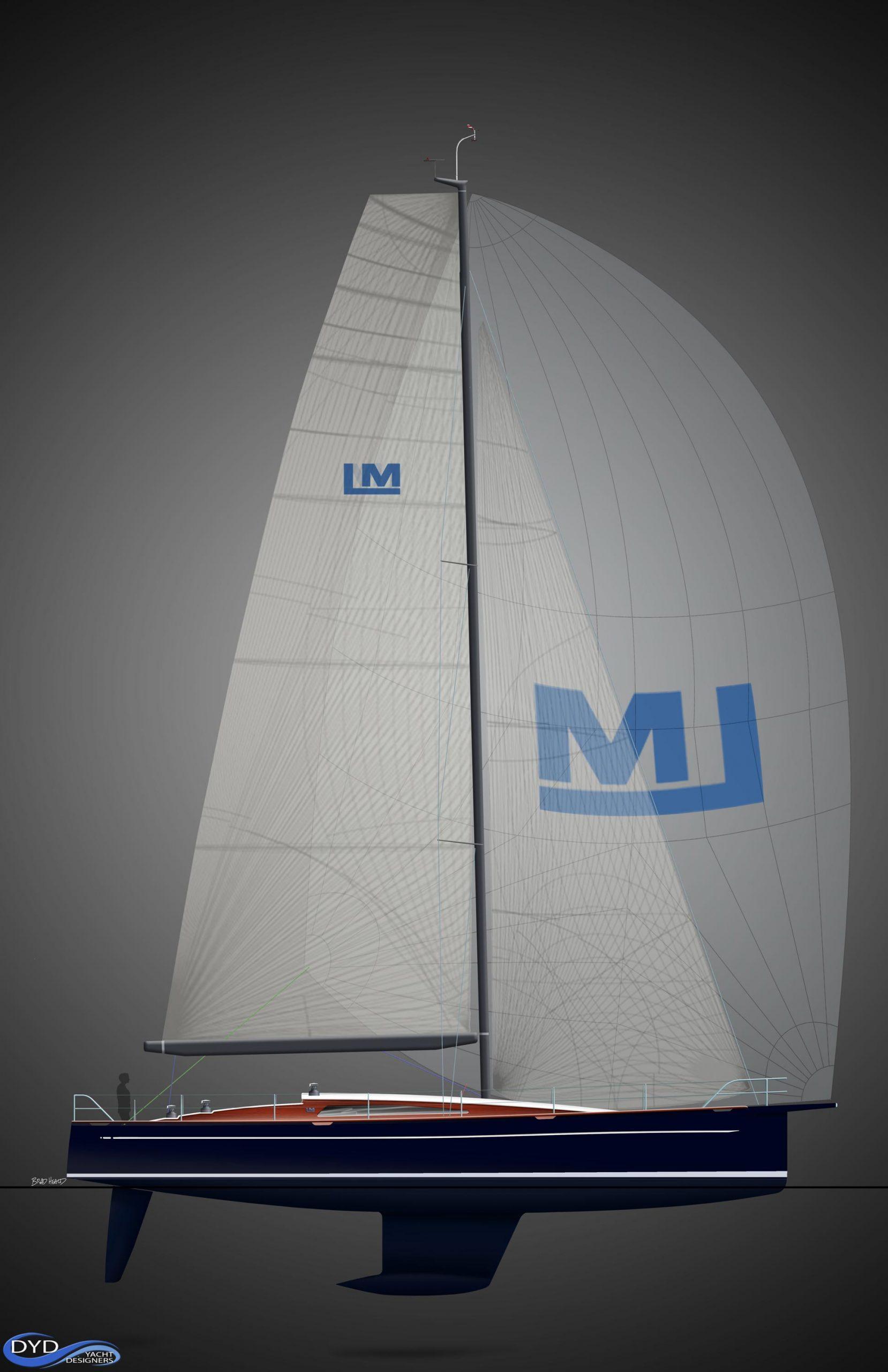LM46 sail plan