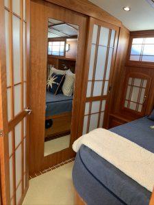 Sabre 48 owner's cabin
