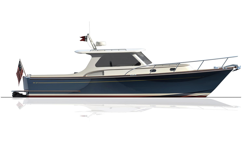 Hood 35 LM Express Cruiser Profile