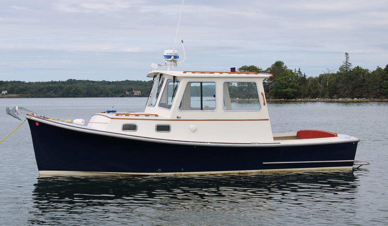 Webbers Cove Galene port profile