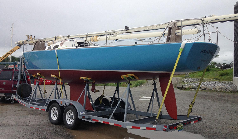 e33 skedaddle on trailer