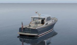 Hood 35 LM hull no. 1