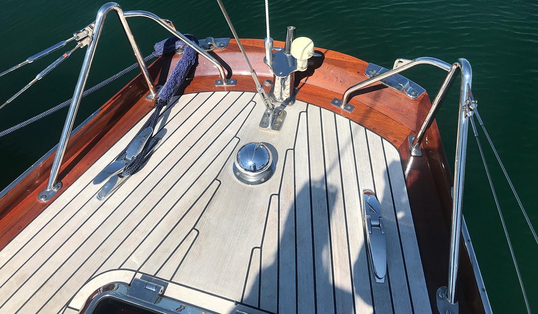 McGruer 41 international 8 metre stern