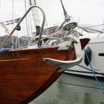 McGruer 41 international 8 metre bow