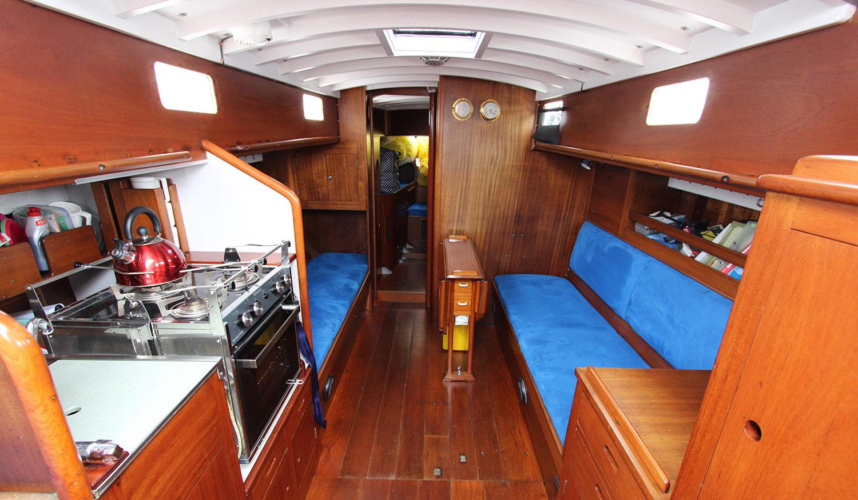 McGruer 41 international 8 metre cabin