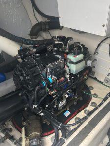 2012 Sabre 48 Salon Express Savory engine